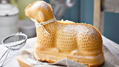 Le gâteau agneau de Pâques est un classique en Alsace et en Lorraine.