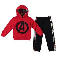Boys Licensed Marvel Avengers Tracksuit Set