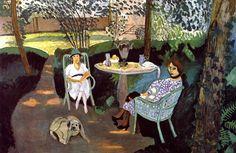 Tea in the Garden Henri Matisse - 1919
