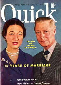 Quick Magazine  about the Dukes of Windsor