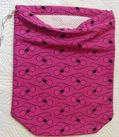 Store your shoes in the adorable Pink Yes Pink ShooBag by shoesies4u on Etsy, $15.00