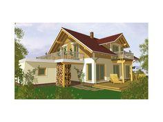 Sunna - #Einfamilienhaus von BayernBlock | HausXXL #Blockhaus #klassisch #Satteldach