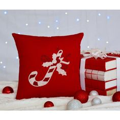 30 Off Christmas Pillow Candy Christmas Decoration ($20) ❤ liked on Polyvore featuring home, home decor, throw pillows, brown, decorative pillows, home & living, home décor, christmas throw pillows, christmas home decor and brown throw pillows