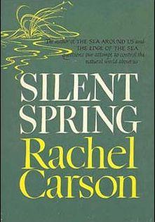 Silent Spring. Primer libro importante sobre ecología