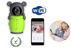 Hot wifi camera baby monitor 720P IR Night vision Intercom PIR Motion Detection baby camera wifi monitor support Android/iOS