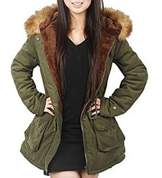 ceec0dab33 Best Top 10 Winter Long Coat For Women. Outdoor CoatsOutdoor JacketsBlack Faux  Fur JacketFaux ...
