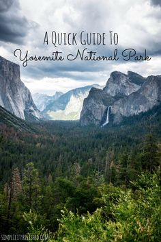 Heading to Yosemite? Check out this quick guide for everything you need to know about visiting this famous national park. Yosemite National Park is one of the most visited places in the U.S. #yosemite #travel