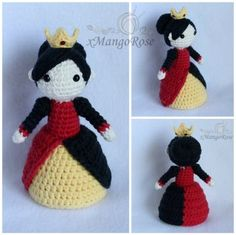 The Queen of Hearts from Alice in Wonderland by xMangoRose