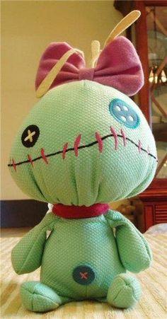 Scrump rag doll from Lilo & Stitch | so cute!! :)