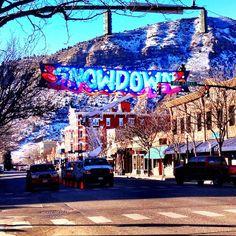 Snowdown is Durango's winter festival, rated top winter festivals in North America in Outside Magazine #Durango #Colorado