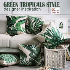 GREEN TROPICALS STYLE