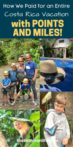 Have you learned the amazing budget travel hack that is Travel Hacking? Using credit card points for travel is the way our family affords to take amazing vacations like this trip to Costa Rica for almost FREE! And it's not as hard as you might think. Road Trip With Kids, Travel With Kids, Family Travel, Packing Tips For Travel, Travel Essentials, Budget Travel, Costa Rica With Kids, Affordable Family Vacations, Best Travel Credit Cards