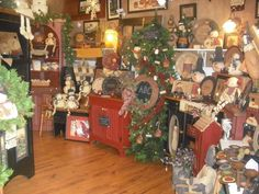 Primitive Decor Store in Virginia.  How I would love to visit!