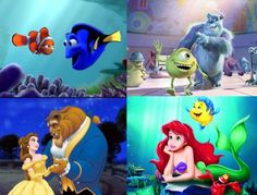 Finding Nemo, Monsters Inc, Beauty & The Beast, Little Mermaid.....all coming in 3D in 2012 and 2013!!!