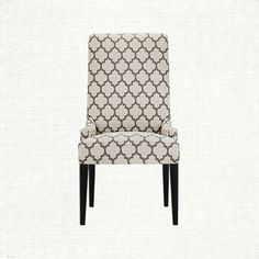Platinum Pewter Dining Chair - this chair in different fabric for head chairs in dining room, and this fabric on a side chair in living room!