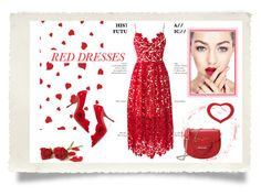 """""""red"""" by jennross76 ❤ liked on Polyvore featuring Miu Miu, Love Moschino, women's clothing, women, female, woman, misses and juniors"""