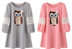 Best price on Mid-long Casual T-shirt Owl Printed Half Sleeve //    Price: $ 29.80  & Free Shipping Worldwide //    See details here: http://mrowlie.com/mid-long-casual-t-shirt-owl-printed-half-sleeve/ //    #owl #owlnecklaces #owljewelry #owlwallstickers #owlstickers #owltoys #toys #owlcostumes #owlphone #phonecase #womanclothing #mensclothing #earrings #owlwatches #mrowlie #owlporcelain