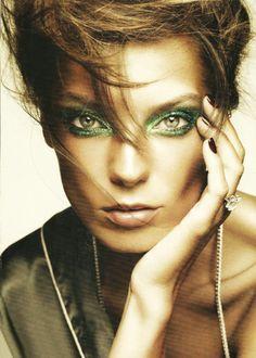 masque vert - green eyes