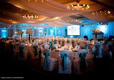 Tiffany blue reception
