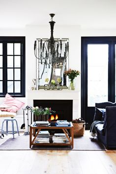 Visit a Fashion Designer's French-Inspired Home