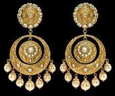 Check Indian Designer Jewellery by Sunita Shekhawat, who is famous around the world. Know more about the various collection and designs of Indian jewellery. Head Jewelry, Bridal Jewelry, Jewelry Box, Hanging Earrings, Funky Earrings, Pearl Earrings, Drop Earrings, Pakistani Jewelry, India Jewelry