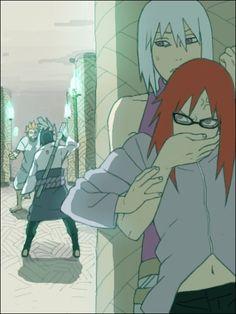Naruto - Sasuke, Jugo, Suigetsu and Karin