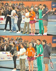 Aamir, Deepika, Akshay with Roger Federer at IPTL   PINKVILLA