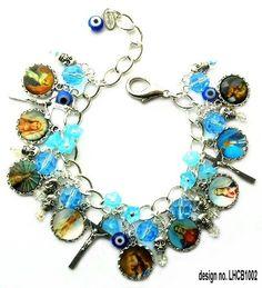 Religious charm bracelet by Leandra Holder in 2008