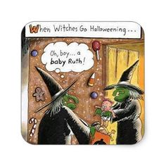 witch humor Funny Halloween Cartoons For A Crazy Laughing Halloween Cartoons, Fröhliches Halloween, Halloween Goodies, Halloween Pictures, Holidays Halloween, Vintage Halloween, Halloween Decorations, Funny Halloween Memes, Happy Halloween Quotes