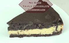 No Bake – Triple Chocolate Cheesecake http://www.bestyummyrecipes.com/no-bake-triple-chocolate-cheesecake/