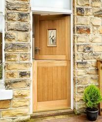 Stable Oak M&T Triple Glazed | External Hardwood Doors | Doors & Joinery | Howdens Joinery