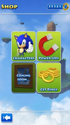 New Sonic Jump iOS game with different characters