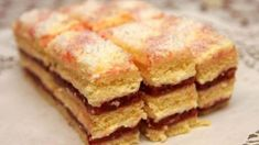 Baking Recipes, Dessert Recipes, Desserts, Czech Recipes, Ethnic Recipes, Y Recipe, Cake Bars, Fajitas, Mini Cakes