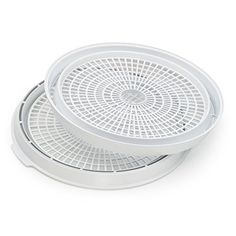 Can be used with any presto dehydro food dehydrators. Trays nest for compact storage. Trays nest for compact storage. For use with all presto dehyro food dehydrators. Specialty Appliances, Small Appliances, Kitchen Appliances, Wine Lovers, Electric Foods, Survival, Knife Block Set, Dehydrator Recipes, Cat Lover