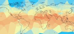 This project displays over 100 years of average monthly land temperature data collected from over 7,200 climate monitoring stations, with each month c