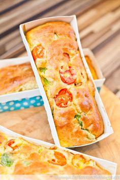 Brokkoli-Tomaten-Kuchen