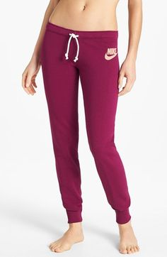 Nike 'Rally' Tight French Terry Sweatpants available at #Nordstrom I like this color better!
