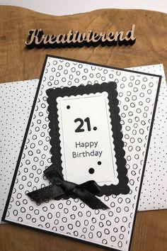 Zum 21. Geburtstag unserer Tochter habe ich ein komplettes Set mit Verpackung, Karte und kleiner Geschenktüte g estaltet. Schau gerne auf meinem Blog vorbei, dort kannst du alles zusammen sehen. #kreativierend #geschenkset #verpackungselbermachen #kreativmitstampinup Happy Birthday, 21st, Blog, Frame, Decor, Papercraft, Stocking Stuffers, Arts And Crafts, Creative Ideas