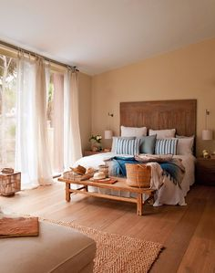 El dormitorio - decoração casa de campo
