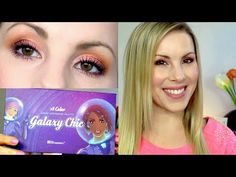 ▶ Eyeshadow Tutorial | Pink Sunset Eyes | BH Cosmetics Galaxy Chic Palette | GIVEAWAY! *CLOSED* - YouTube