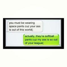 funny softball quote