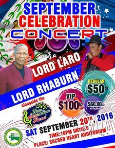 Cayo September Celebration Concert