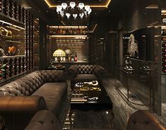 Cigar Room on Behance Whiskey Lounge, Whiskey Room, Man Cave Room, Man Cave Home Bar, Lounge Design, Bar Lounge, Design Design, Cigar Lounge Man Cave, Cigar Lounge Decor