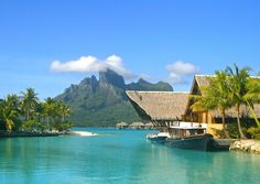 Readers' Rating: 92.611What's special: Views of Bora Bora's mountains from Motu Tehotu are almost unbelievable. A large number of overwater bungalows and beachfront villas have two bedrooms each (perfect for family vacations–children age 5 to 12 will love the Tamarii Club). An inner lagoon on the grounds of the resort is fascinating to explore with complimentary guided snorkelling tours.