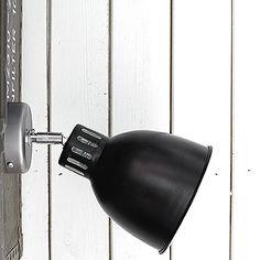 MyZorki Design Lampy Loft Lampy Industrialne Kable w Oplocie | Kinkiet Industrialny Move Reflektor Loft Black & Cream #530 | MyZorki Design | Zorki Factory