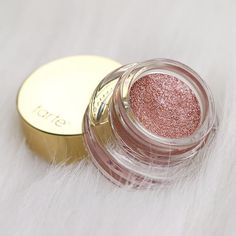 Tarte Cosmetics Limited Edition Clay Pot Waterproof Shadow Liner - Rose Gold ♡ ️