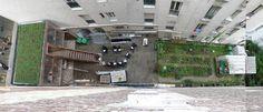 public space: «Passage 56» / espace culturel écologique: Paris (France), 2009