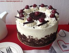 Sweet Recipes, Cake Recipes, Czech Recipes, Cake Toppings, How Sweet Eats, Cake Designs, Baked Goods, Oreo, Cupcake Cakes