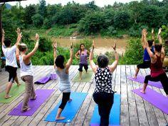 Budget #yoga retreat in Luang Prabang, Laos.