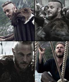 Vikings - Travis Fimmel as Ragnor Lothbrok  Yeah, I know he's unkempt but he's still hot!